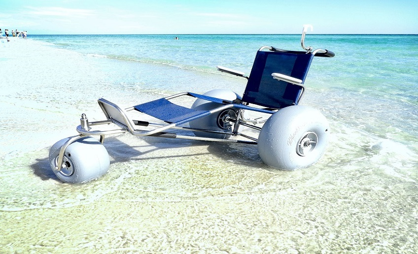 Ez Roller All-Terrain/ Water Chair