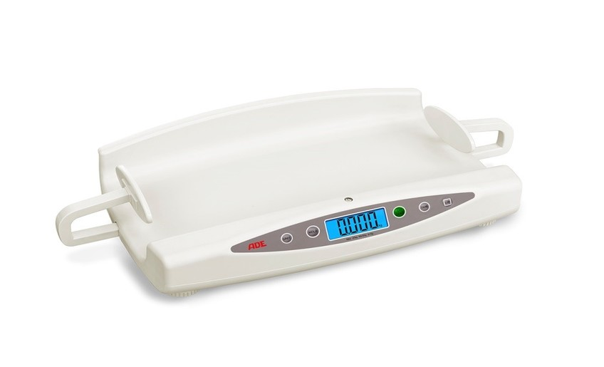 M118600-01 Electronic baby scale with integrated length measure