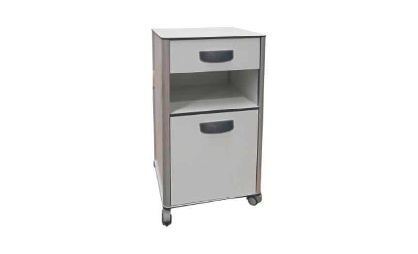 Sandcruiser All Terrain ChairDa 1012 - Compact Laminate And Aluminum Bedside Cabinet