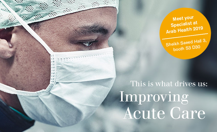Draeger - your Specialist in Acute Care